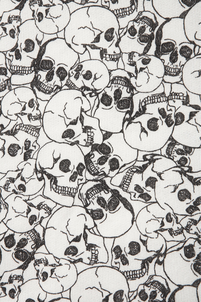 American Hippie Psychedelic Art Design Pattern Wallpaper ~ Skulls