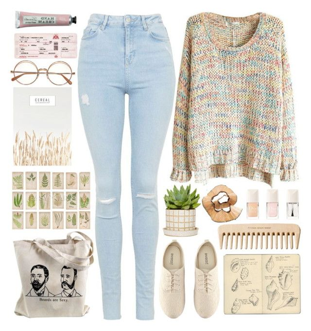 """""""I'll make it easy"""" by annaclaraalvez ❤ liked on Polyvore featuring Topshop, H&M, Moleskine and The Body Shop"""