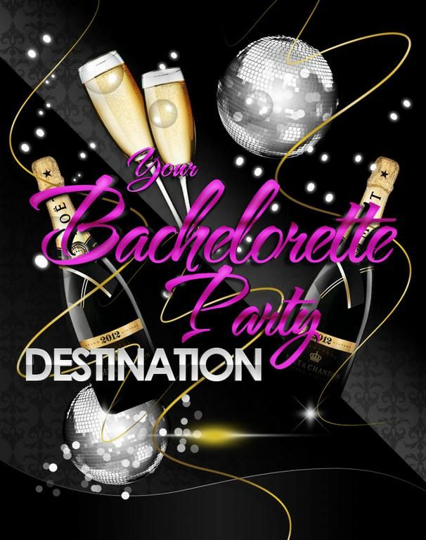 Bachelorette Party Flyer, Event Invitation #flyers #invitations ...