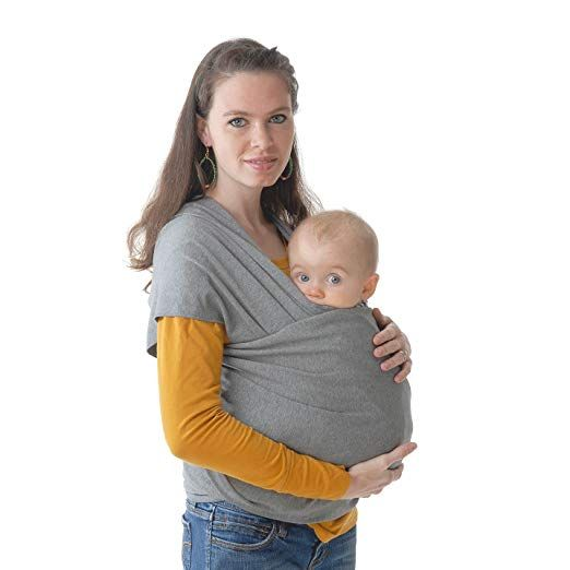 Wistic Baby Wrap Carrier All In 1 Stretchy Baby Wrap Lightweight