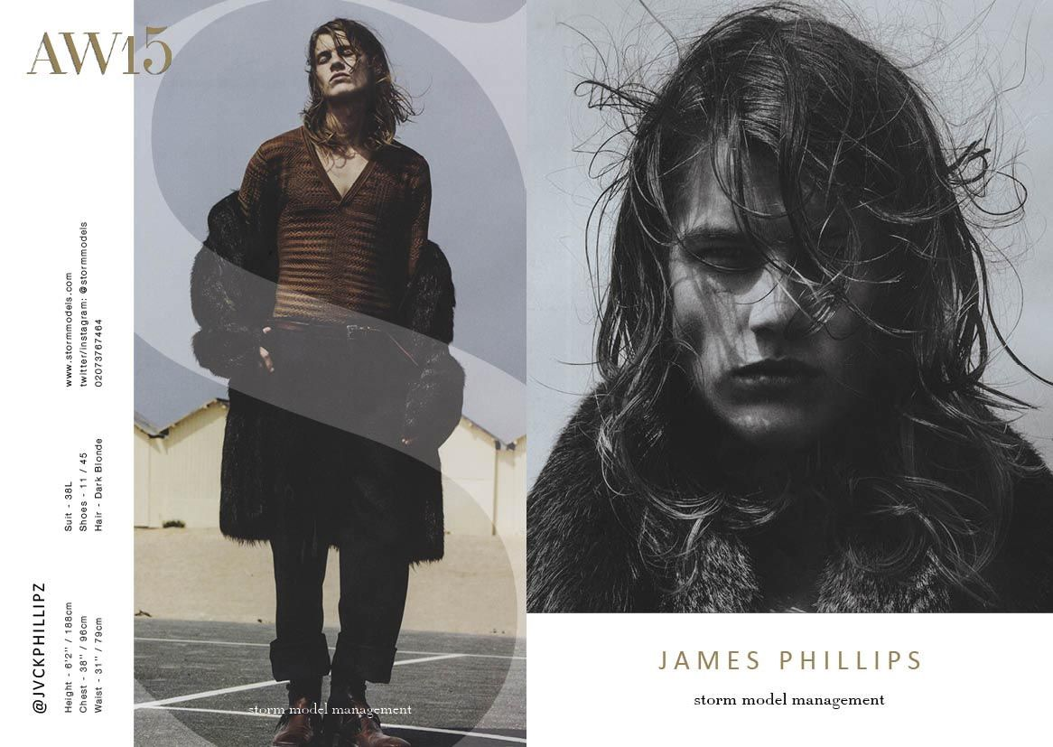 James Phillips - #LCM #AW15 #showcard