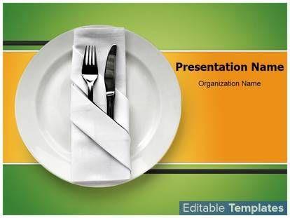 restaurant powerpoint templates