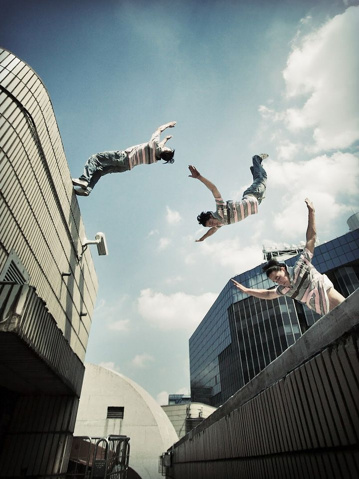Incredible World Of Parkour Photos Parkour Modern And Storms - Enjoy incredibly creative short stop motion parkour film
