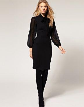 Black high low dress asos coupon