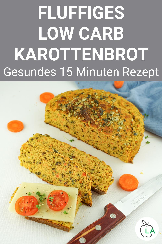 Low Carb Brot mit Karotten – Perfekt für morgens oder mittags
