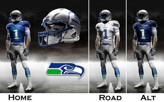 New Seahawk Nike Jersey 12thman Seahawks Uniforms Seahawks Seattle Seahawks