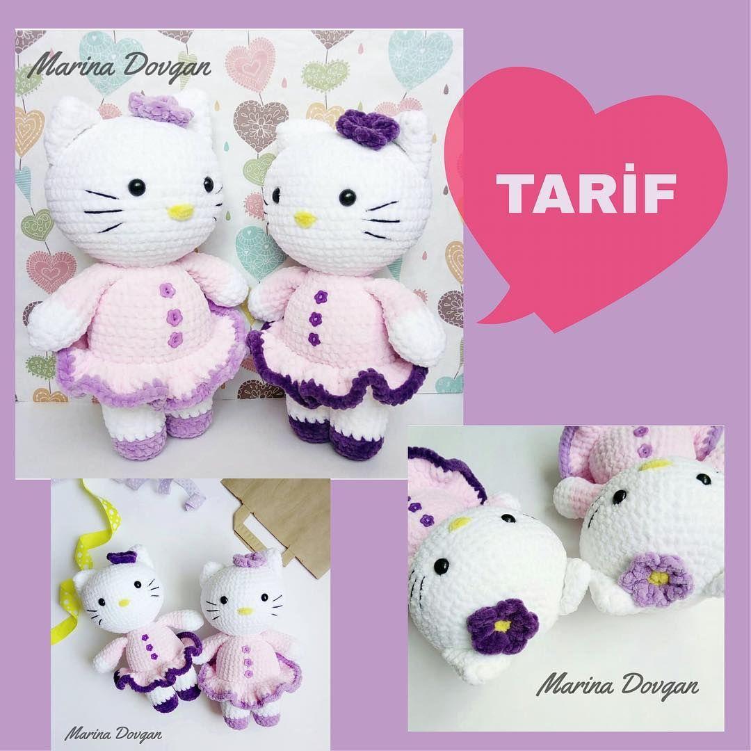 Amigurumi Hello Kitty Tarifi6 - Aktif Moda | 1080x1080