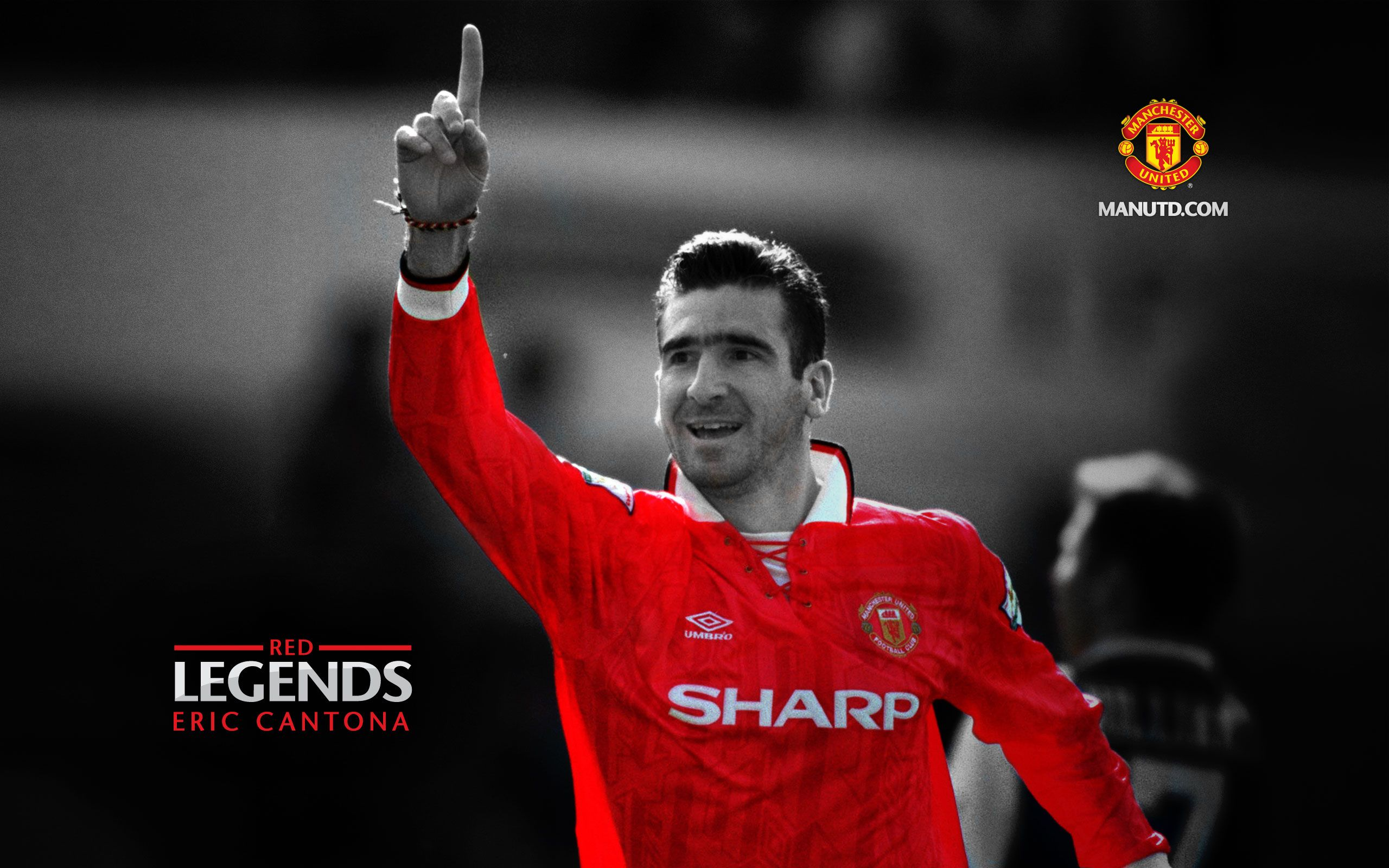 Eric Cantona - forward - France (1992-1997) Cantona has taken up acting  after retiring from football in 1997. e36db3373