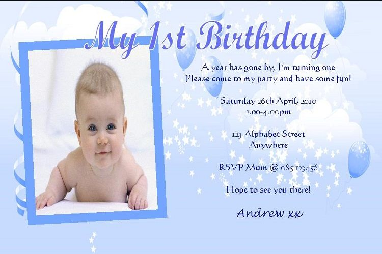 first birthday invitation card. first birthday invitation card 1st Birthday Invitation Wording ...