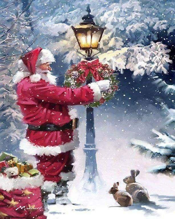 Wùnsche euch allen eine      Frohe Weihnacht Und einen guten  Rutsch ins       …
