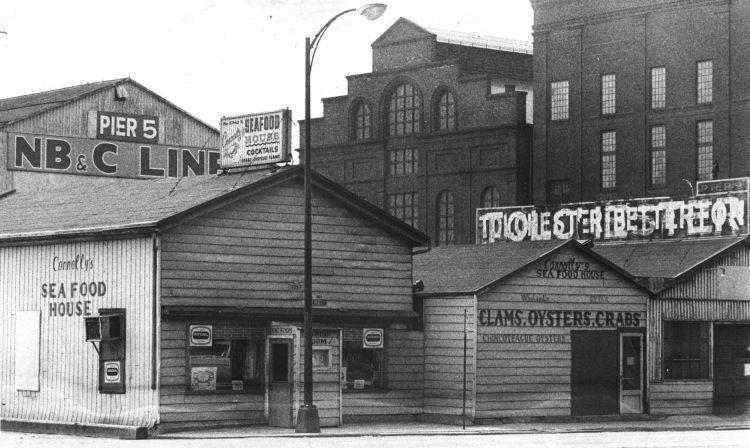 Connolly S Sea Food House Historic Baltimore Baltimore Restaurants Baltimore City