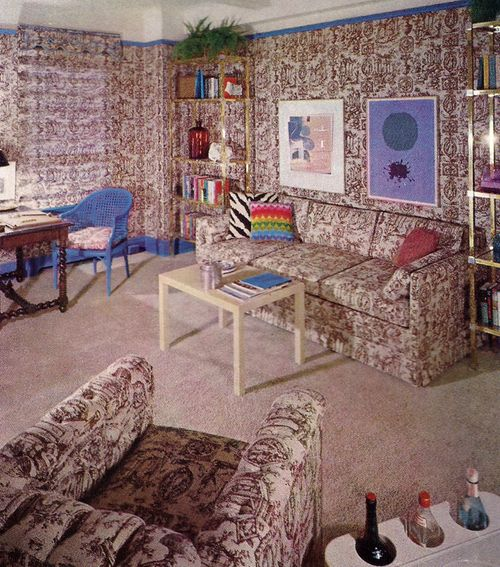 A Brief Compendium Of Vintage Interiors That Get The Party Started