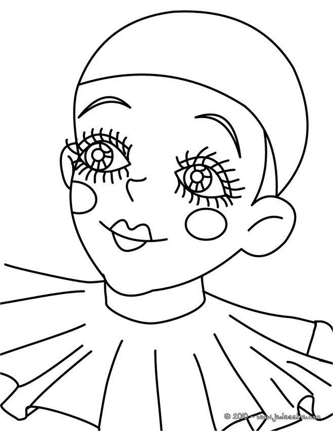 Coloriage Personnage A Colorier Dessin A Imprimer Painting Patterns Coloring Pages Mask Drawing