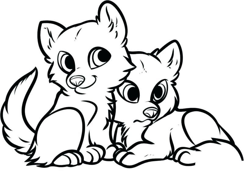 12+ Cute coloring pages of animals trends