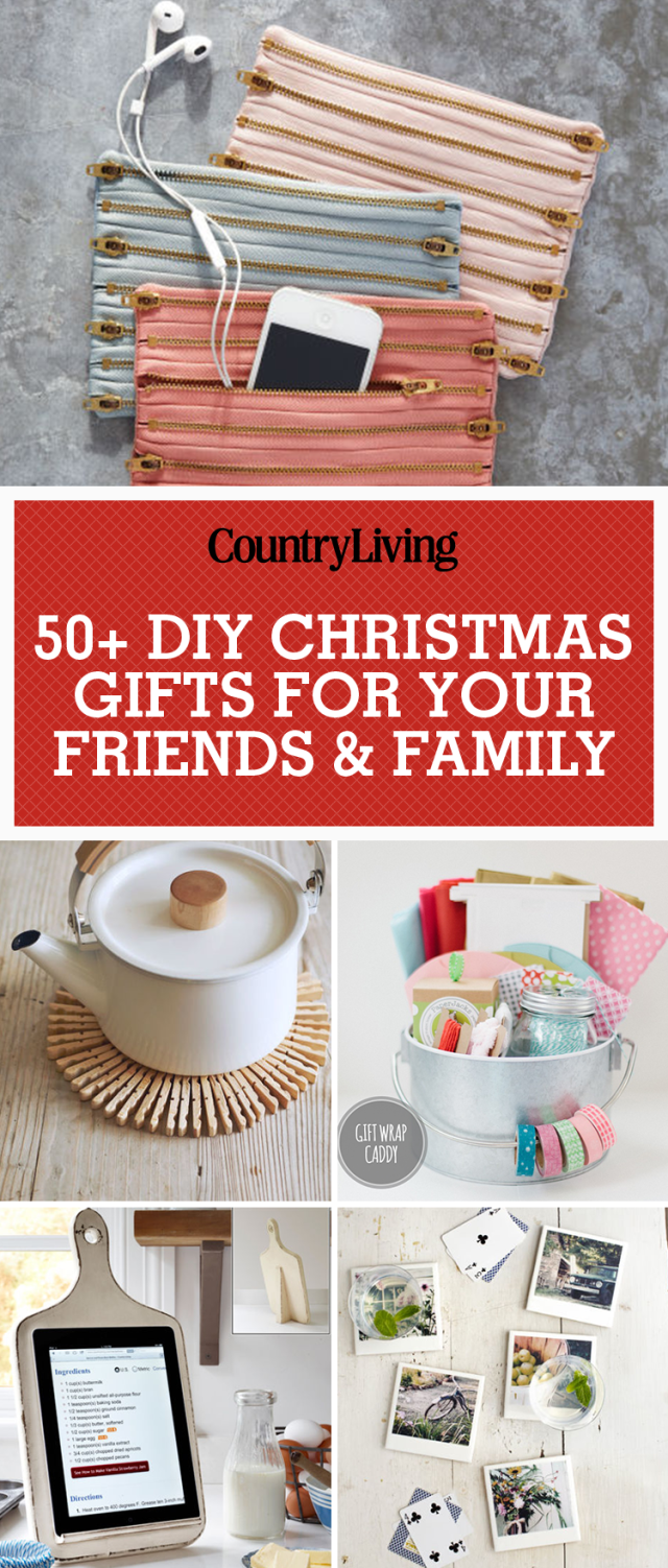 These DIY Christmas Gift Ideas Come Straight From the Heart | DIY ...