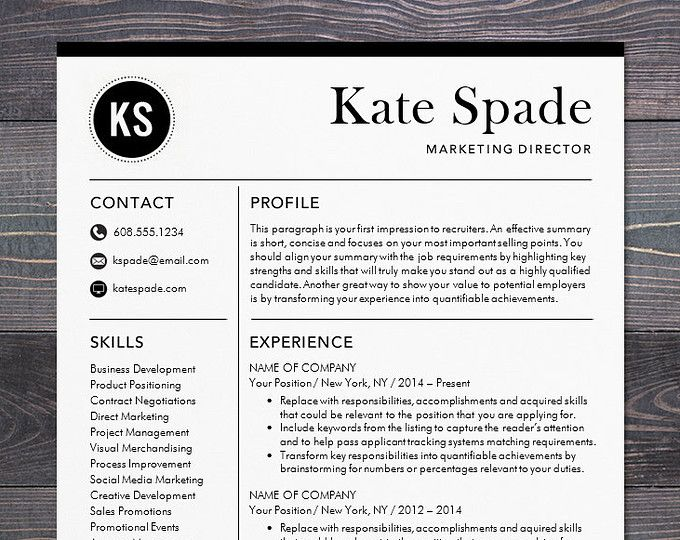 Professional Resume Template Cv Template Mac Or Pc Modern Professional Resume Template Instant Resume Template Professional Cv Template Resume Design