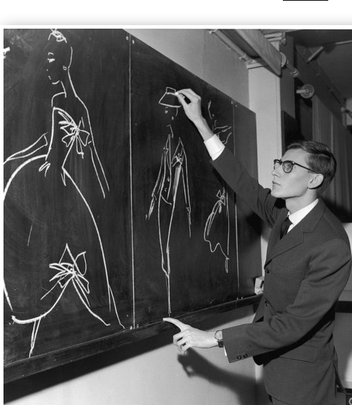 Yves Taint Laurent A French Fashion Designer Known For His Mondrian Dress Tuxedo For Women And Use Of Blac Saint Laurent Yves Saint Laurent Studi Di Artisti