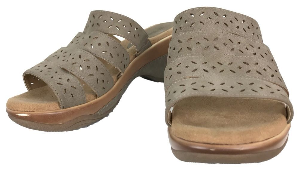 f4333a3ebe4 White Mt Sandals Womens Size 10 Wide Brown