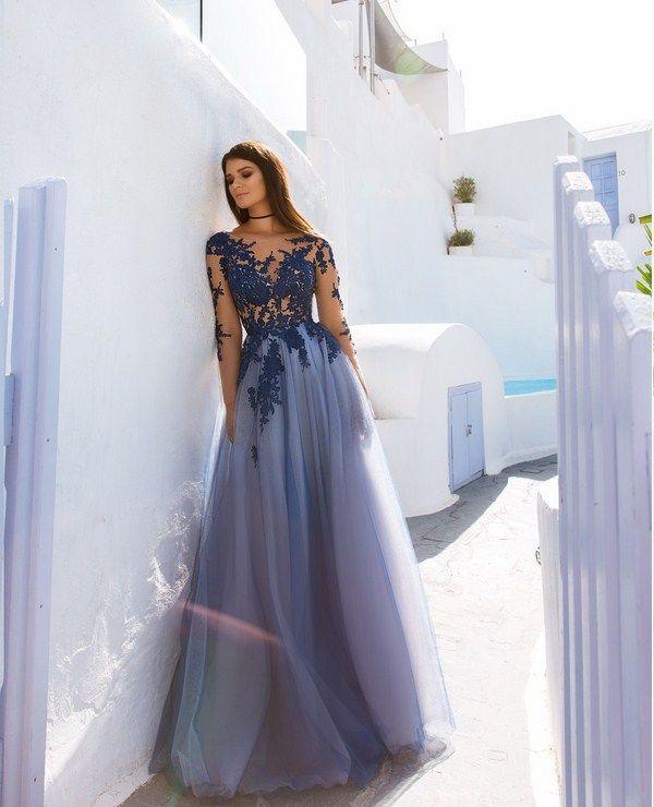 Красивые вечерние платья 2018-2019 года, фото, новинки ...