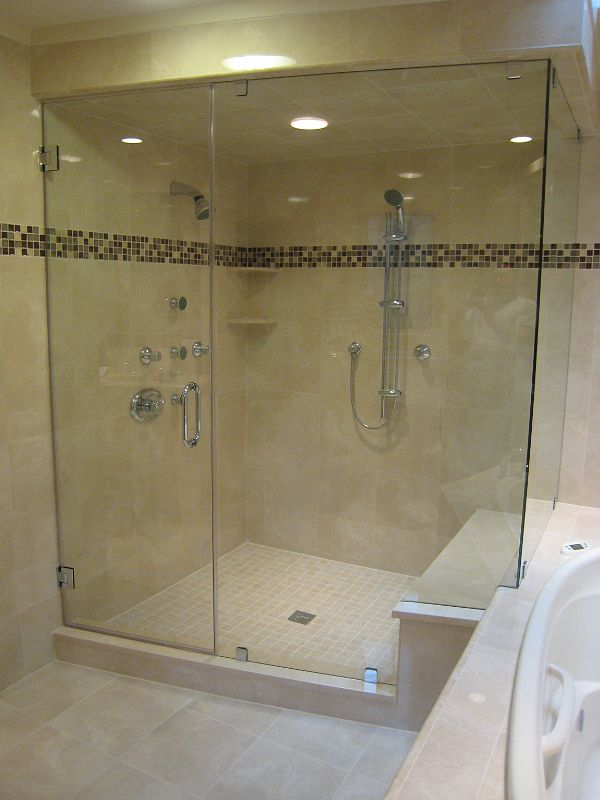 Cozy Frameless Shower 26463