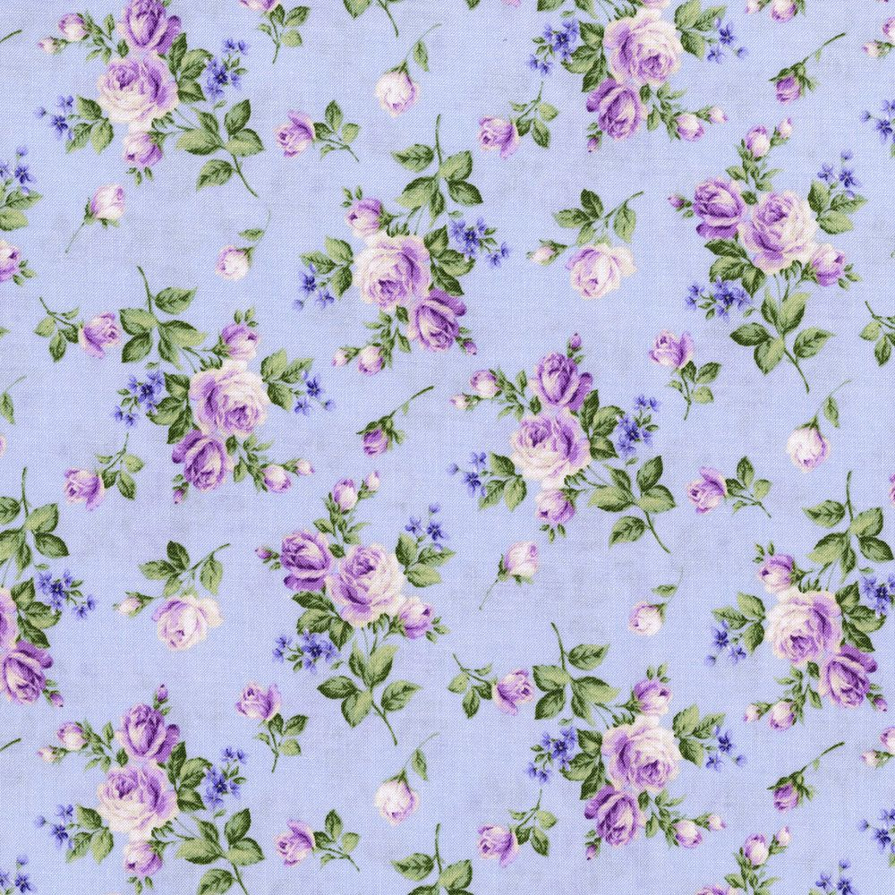 Rjr Fabrics Afternoon In The Attic Flannel Heirloom Floral Lavender Vintage Floral Wallpapers Floral Illustration Pattern Floral Wallpaper