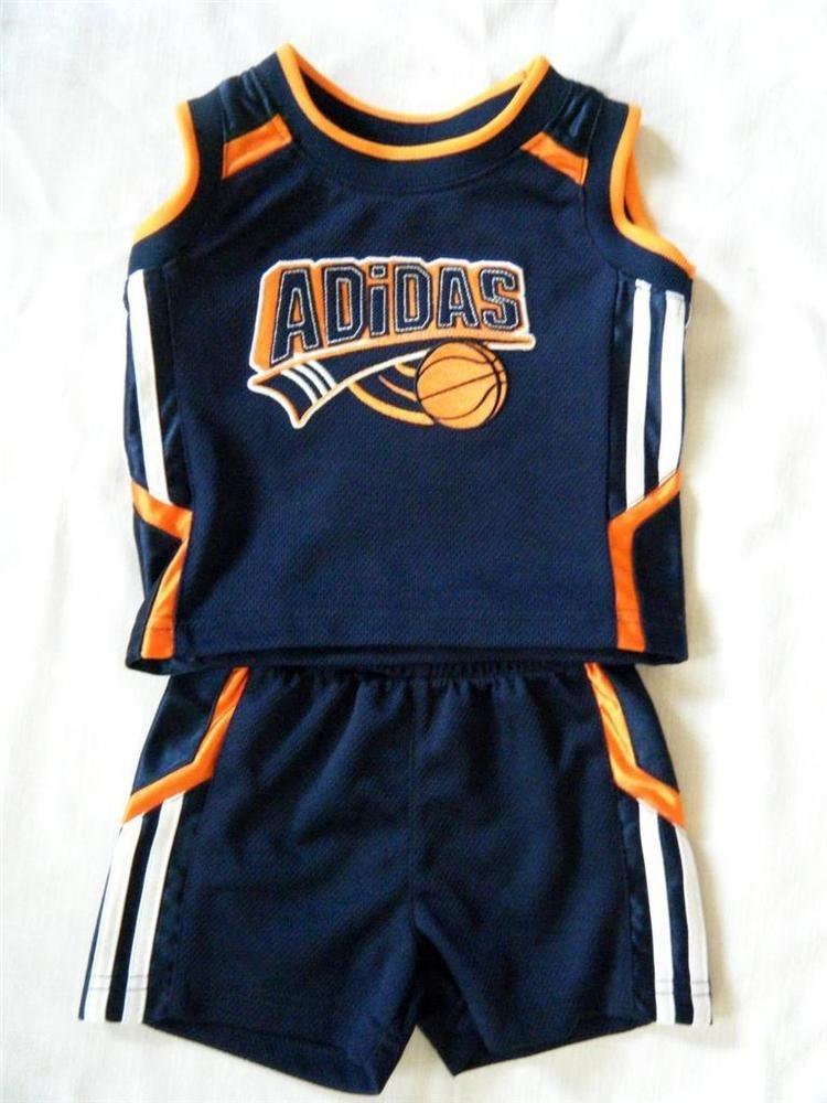 adidas Little Boys' Sport T Shirt and Short Set