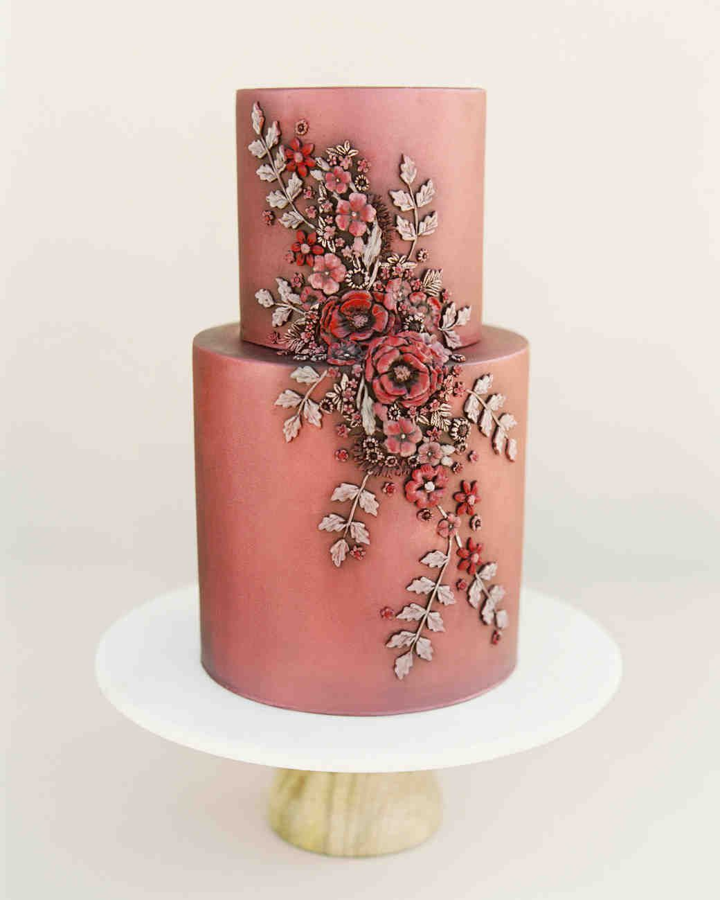 60 Fall Wedding Cakes We\'re Obsessed With | wedding for Fall/winter ...
