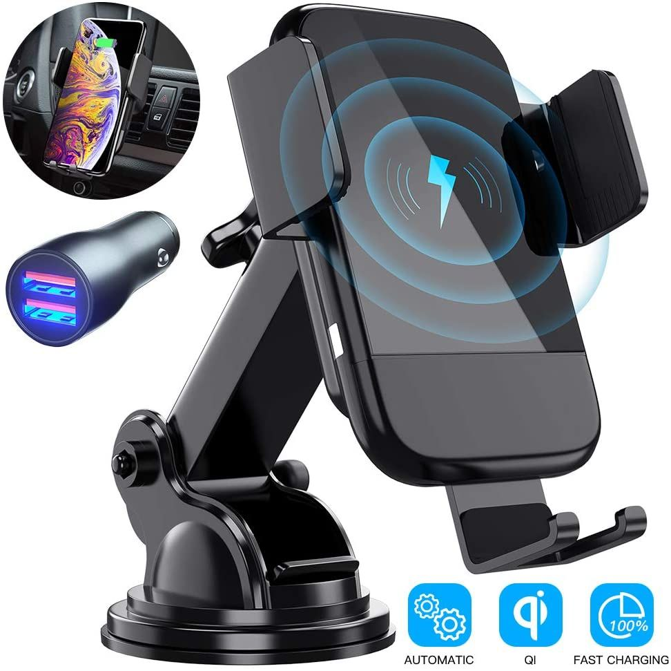 Best Wireless Car Charger CTYBB Qi AutoClamping Air Vent