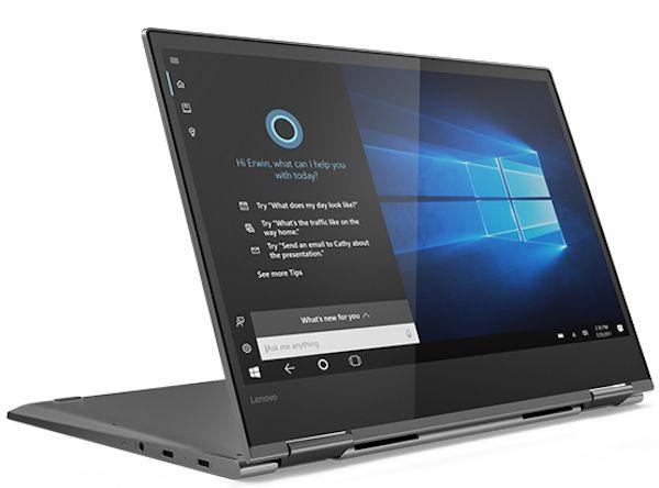 Lenovo Yoga 730 Convertible De 13 Pulgadas 4k Y 13 Horas De