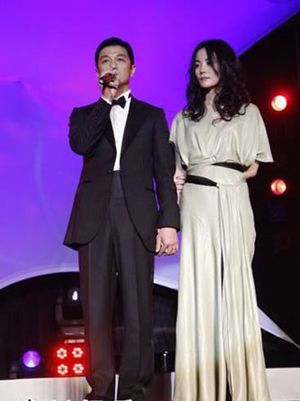 Stars gather for Faye Wongs charity banquet -- china.org.cn