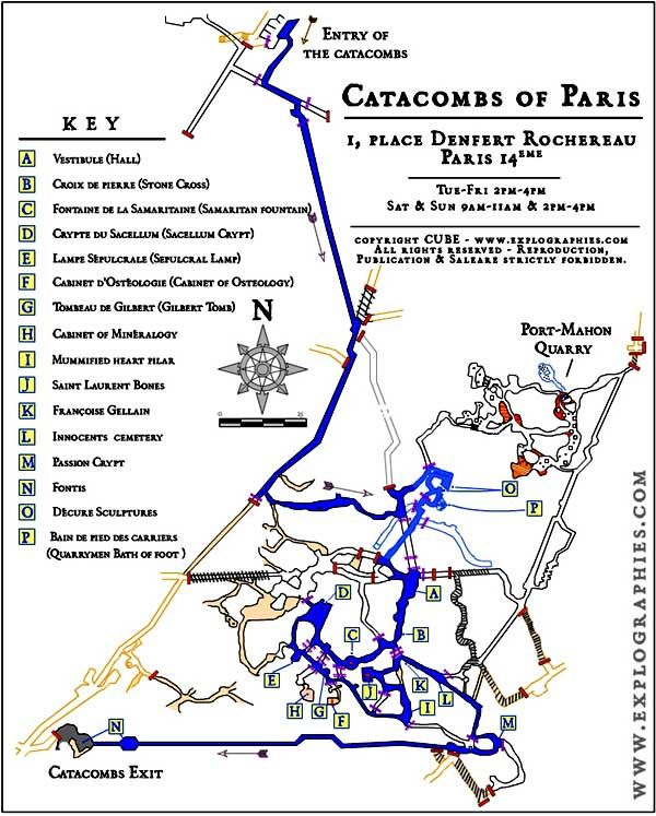 Catacombs Of Paris France Adventure Map In 2019 Pinterest