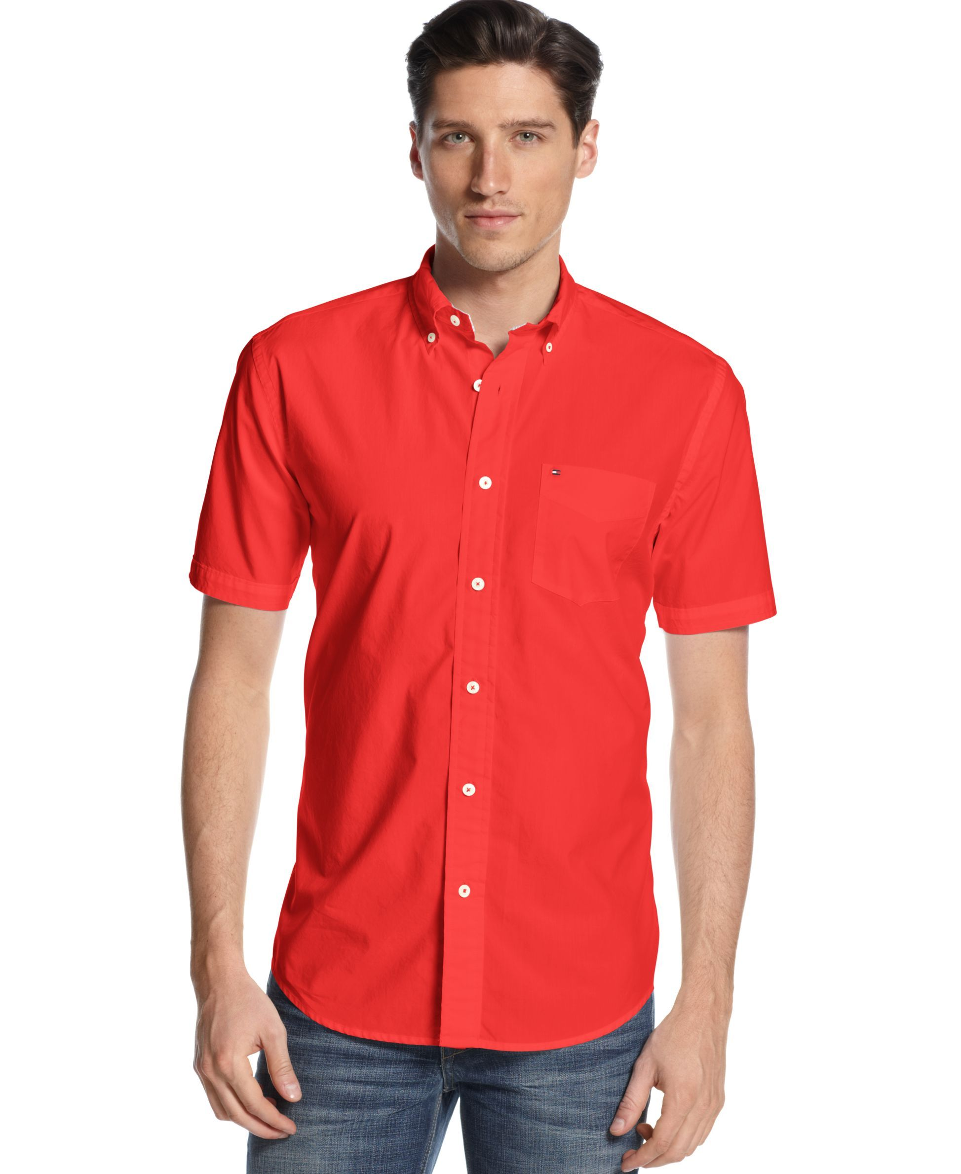 76aaab526 Men s Maxwell Short-Sleeve Button-Down Classic Fit Shirt