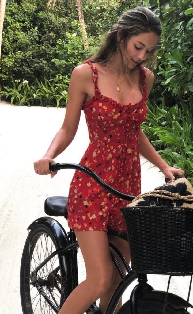 Photo of Red Floral Button Down Mini Dress#button #dress #floral #mini #red