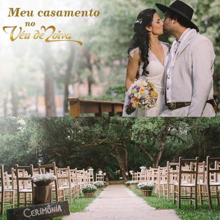 Pâmella colocou seus dotes em prática no seu próprio casamento. Decoradora, ela criou uma cerimônia com a cara dos dois: honrando os costumes gaúchos <3 #casamento #veudenoiva #wedding #noiva