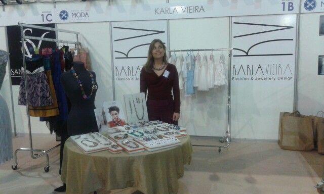Karla Vieira, estilista madeirense.