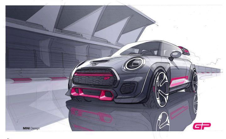 Mini John Cooper Works GP: the design  #mini #cardesign #automotivedesign #autodesign #cardesignworld #cardesignercommunity #cardesignpro #carbodydesign #cardesigner #vehicledesign #sketch #designsketch #carsketch #cardesignsketch #industrialdesignsketch #carrendering #minicooper