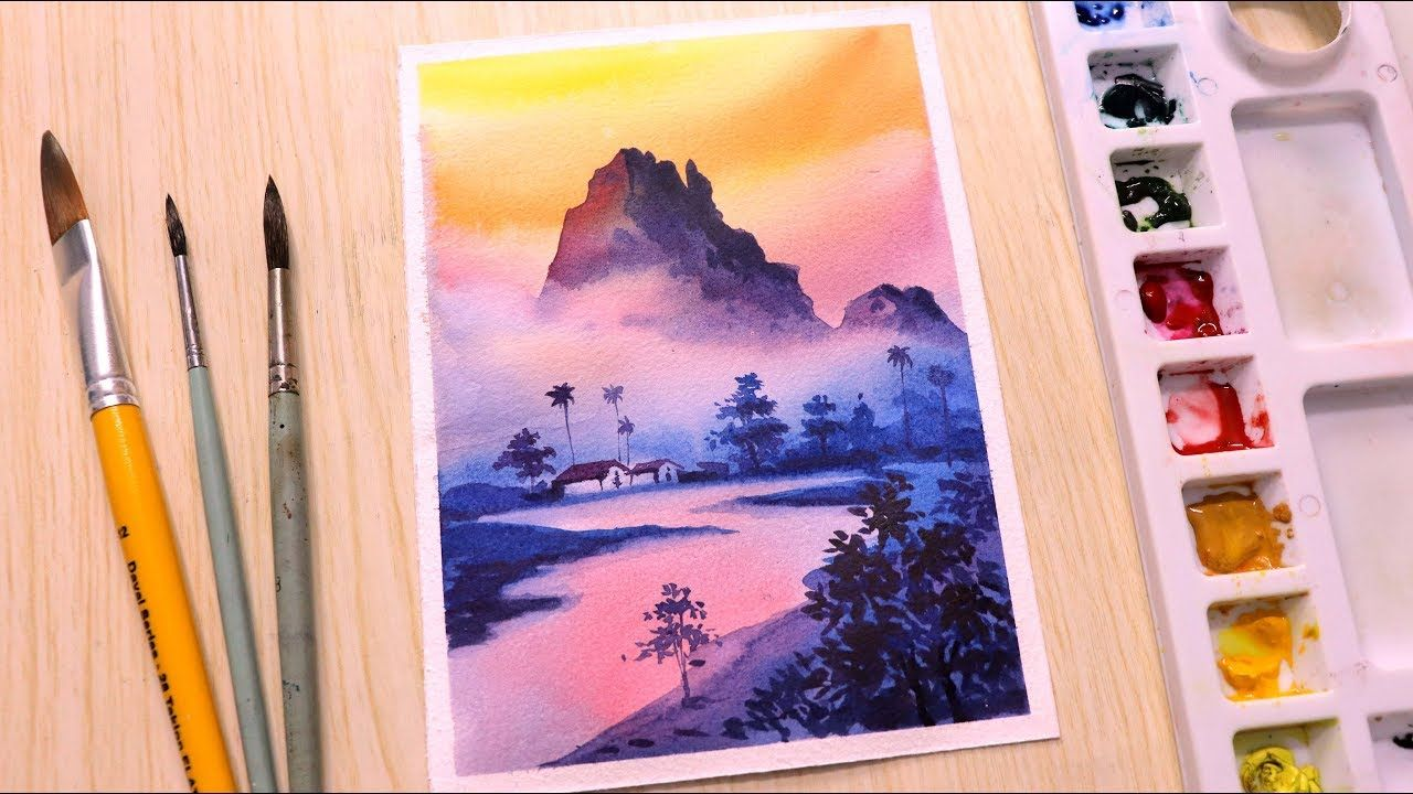 Watercolor Painting For Beginners Watercolor Painting I 303 S13