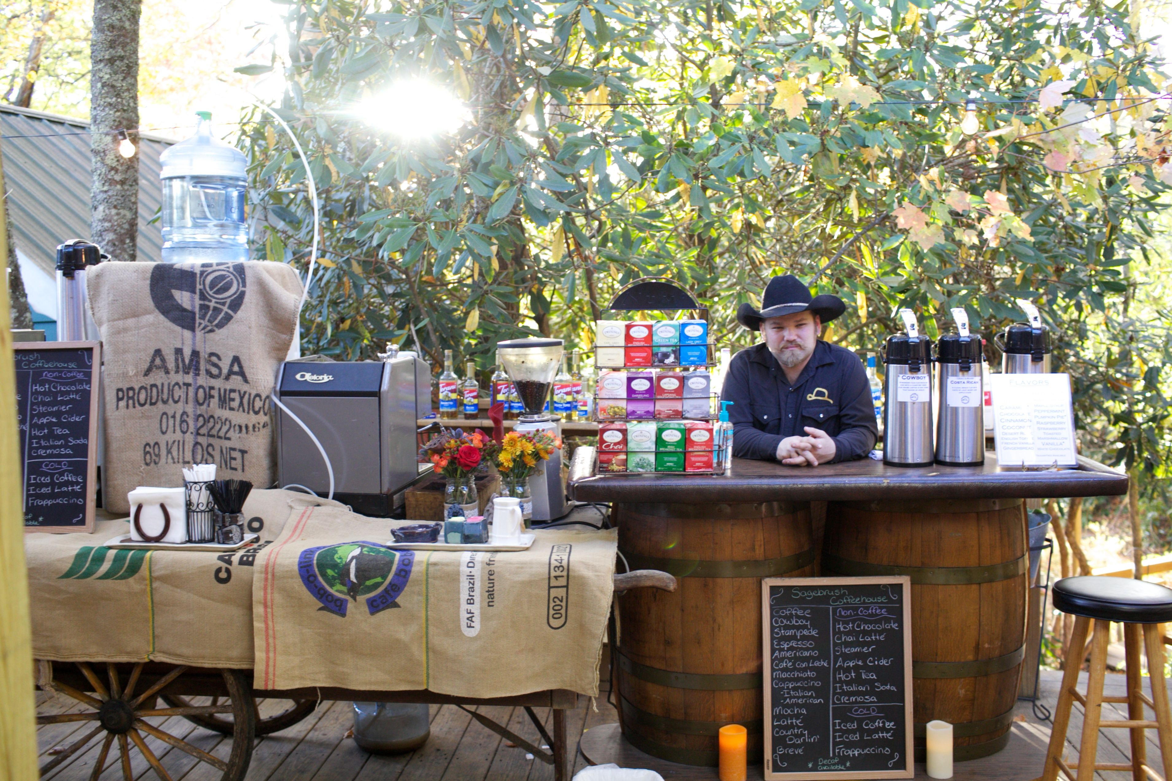 Love Is Brewing Coffee Stationa Coffee Bar At Your Wedding