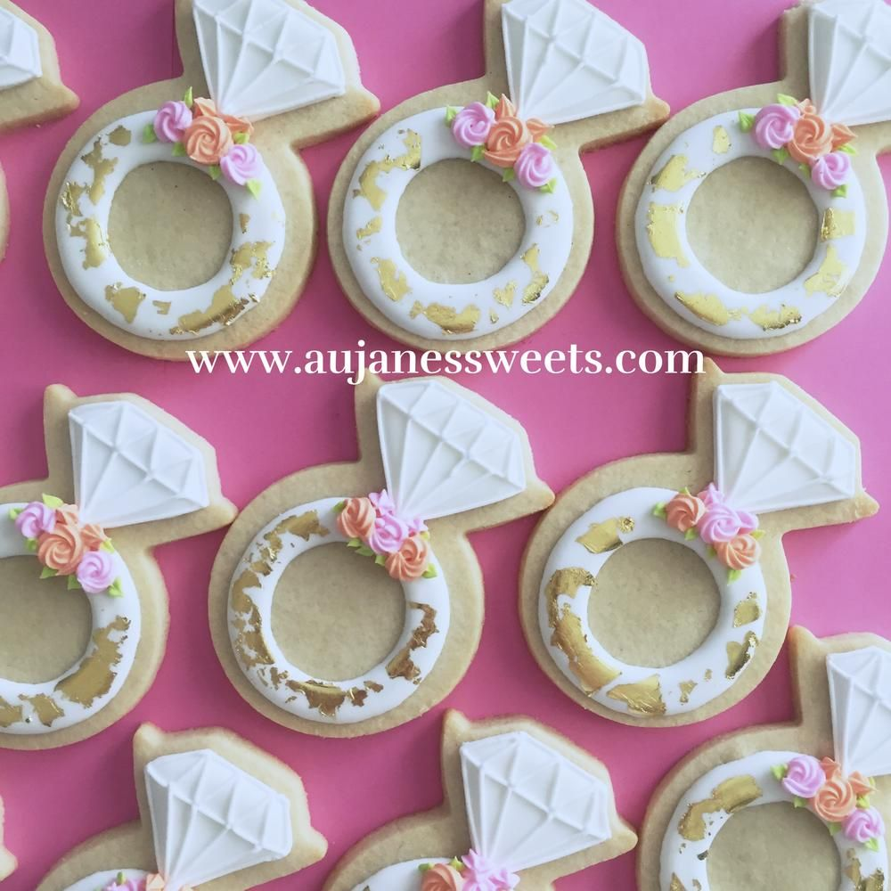 Bridal Shower Cookies | Shower, Wedding and Anniversary Cookies ...