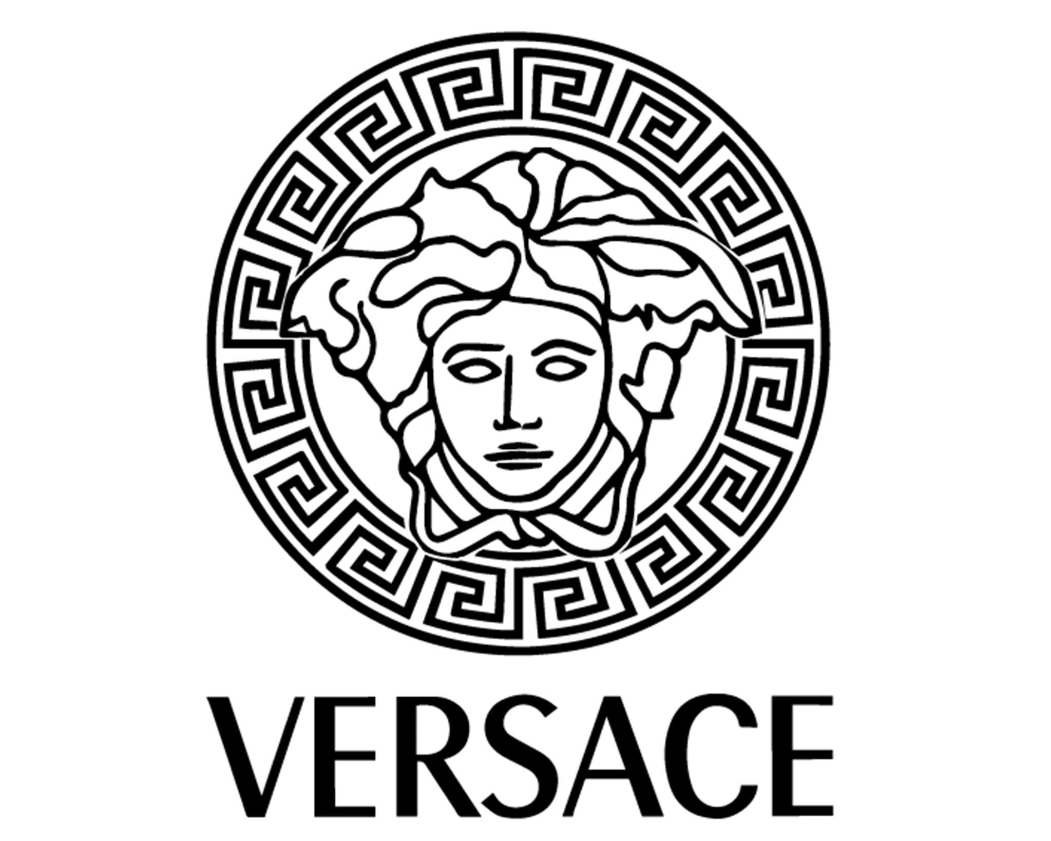 1c8998caaa05 Versace logo painting stencil size pack  high quality in 2019
