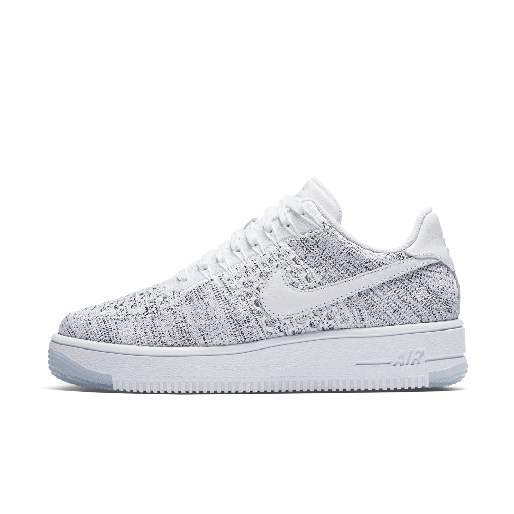 Nike Air Force 1 Flyknit Low Women s Shoe Size 10.5 (White ... 663cea21d0