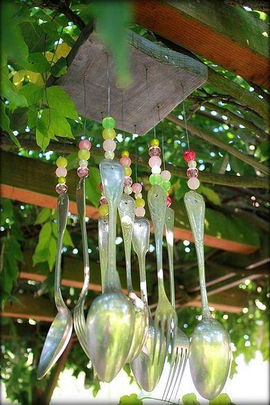 Quel Beau Mobile De Jardin Jardin Sensoriel Deco Jardin
