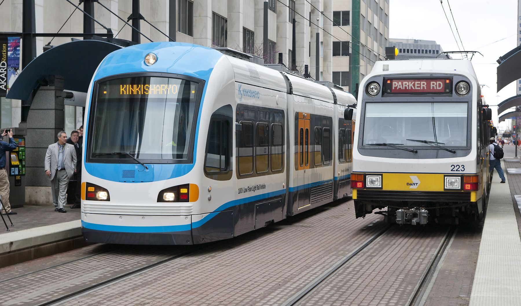 Dart Dallas Trolleys Etc Rail Car Metro Rail Light