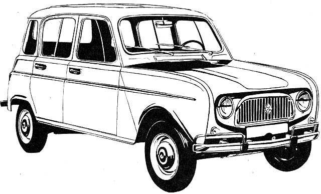 Este vídeo del Renault 4L es más viejo que Matusalén, pero
