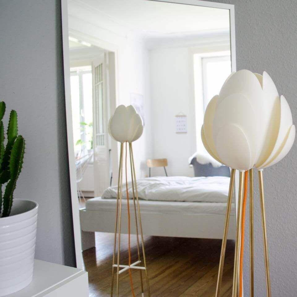 Hamburger Designstudio Cali Virek fertigt Lampenschirme