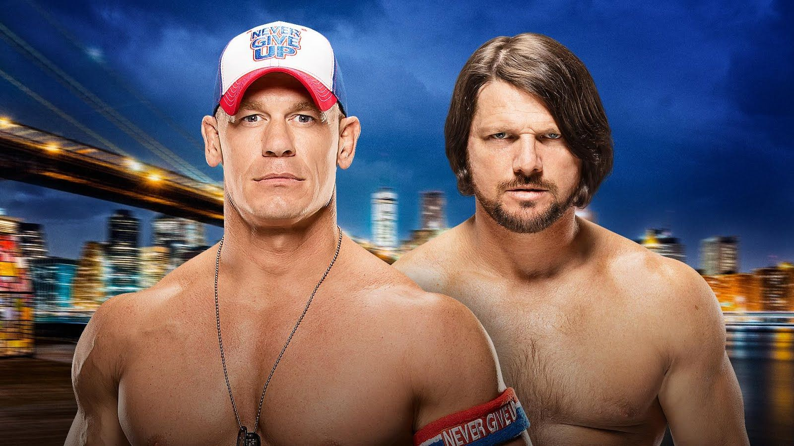 John Cena vs AJ Styles Sunday Summerslam Odds http
