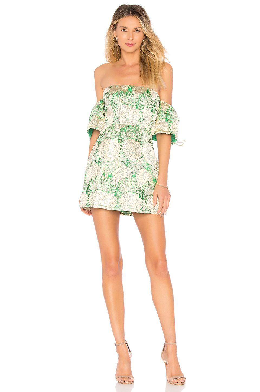 Lovers Friends Allie Mini Dress In Green Mini Dress Women S Fashion Dresses Fashion