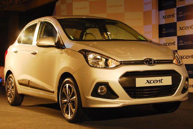 Hyundai Launch Entry Level Compact Sedan Xcent At 4 66 Lakhs