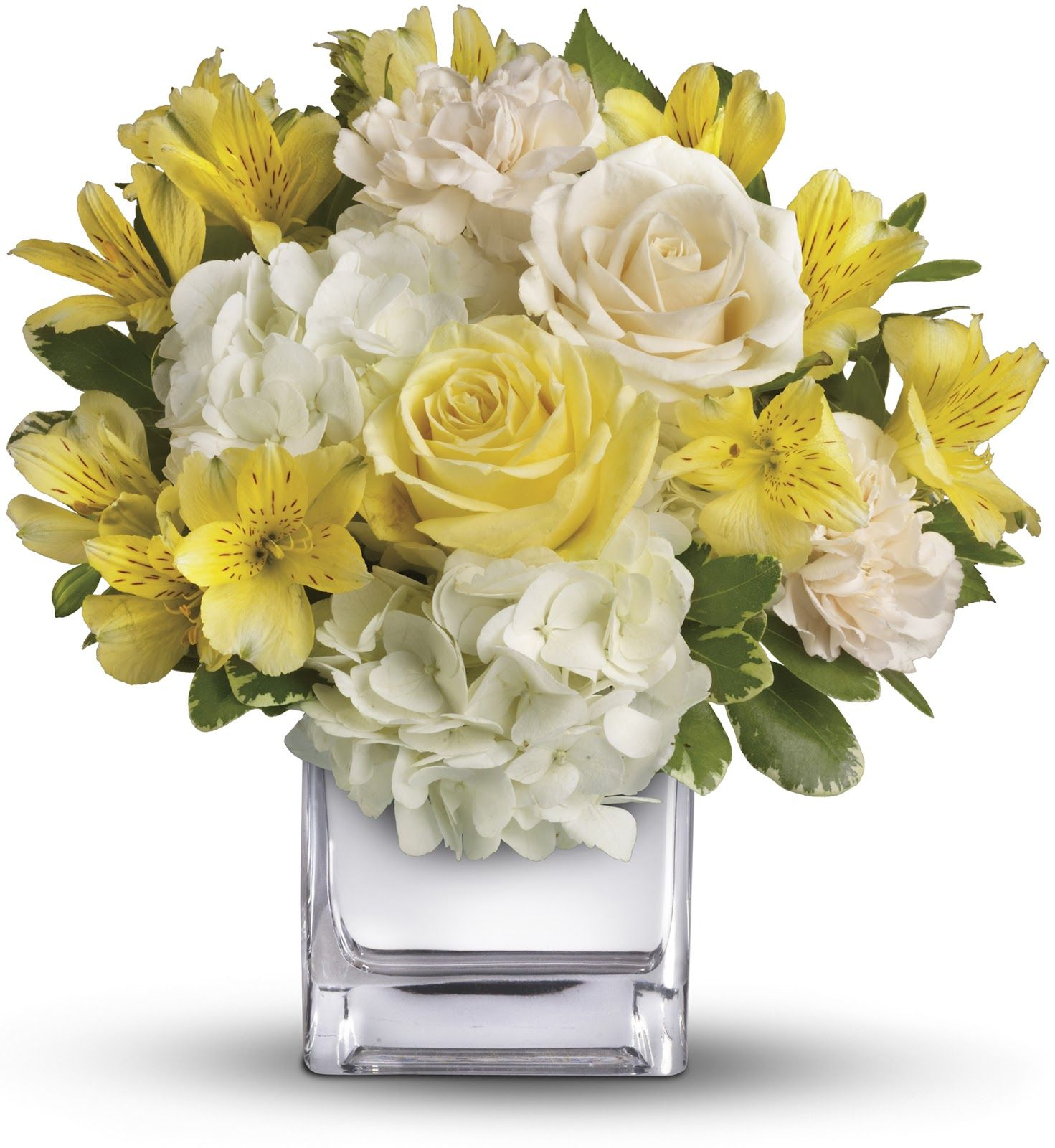 Beautiful Flower Arrangements Love Yellow Flowers And This