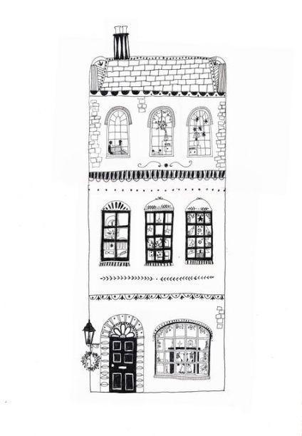 Neues HausIllustration, die einfache 27 Ideen